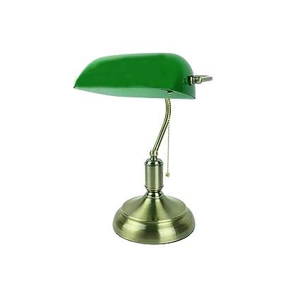 Nostálgico Estudio Retro Lámpara de Mesa de Oficina Lámpara ...