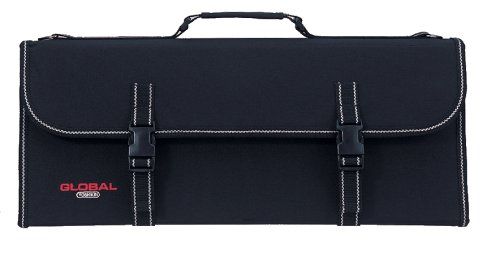Global G-667/21 - Knife Case with Handle and 21 Pockets by Global