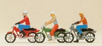 Preiser 10126 Young Motorcyclists (3)