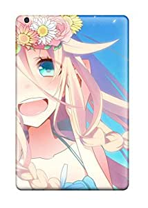 High-end Case Cover Protector For Ipad Mini/mini 2(anime Girl)