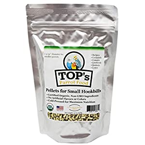 TOP's Parrot Food Small Pellets for Birds - 12oz / 340g 85