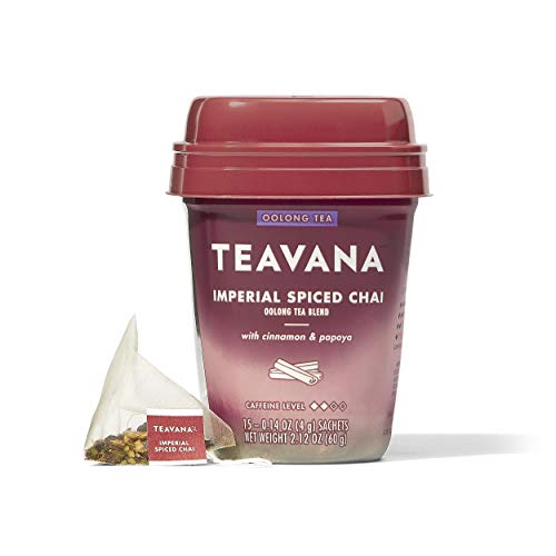 Teavana Imperial Spiced Chai, Oolong Tea With Cinnamon and Papaya
