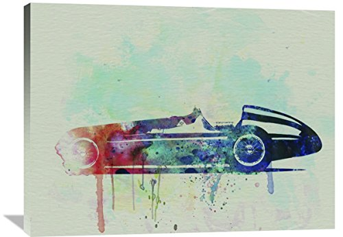 """Naxart Studio """"Alfa Romeo Tipo Watercolor"""" Giclee on canvas, 40"""" by 1.5"""" by 30"""" from Naxart Studio"""