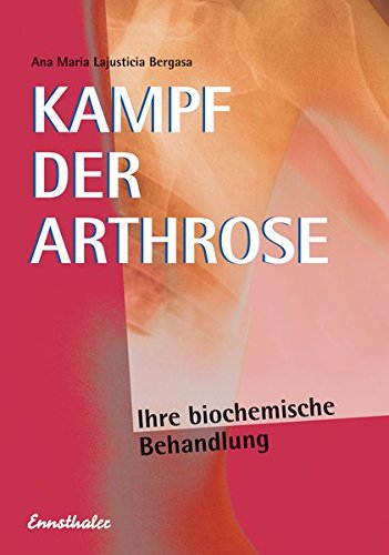 Kampf Der Arthrose  Ihre Biochemische Behandlung