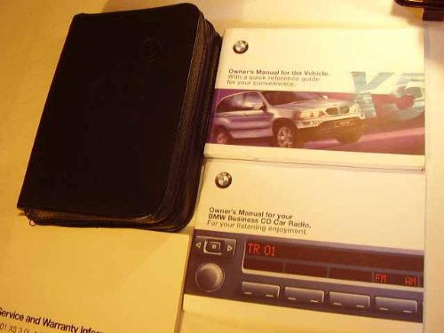 2001 BMW X5 3.0i 4.4i Owners Manual
