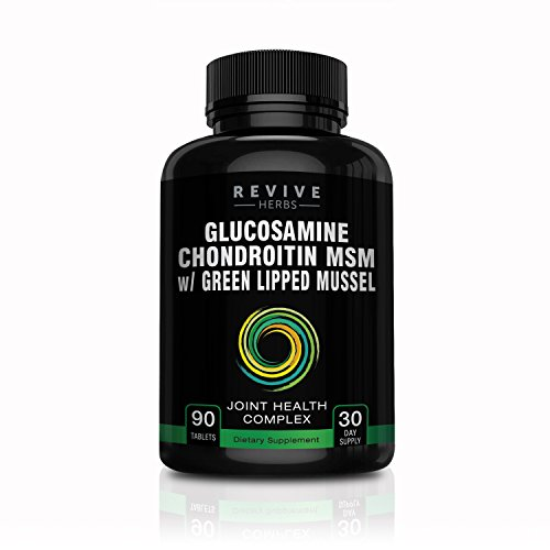 Cheap Glucosamine Chondroitin MSM with New Zealand Green Lipped Mussel – Supports Joint Flexibility, Connective Tissue & Cartilage Health – Includes Boron, Alfalfa, Yucca Root, Devil's Claw & More