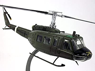 Bell UH-1 Iroquois Huey - US ARMY - 101st Airborne Division - 1/48 Scale Diecast Metal Model