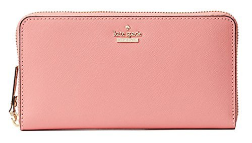 Kate Spade New York Cameron Street Lacey zip around continental wallet, Yucatan Pink