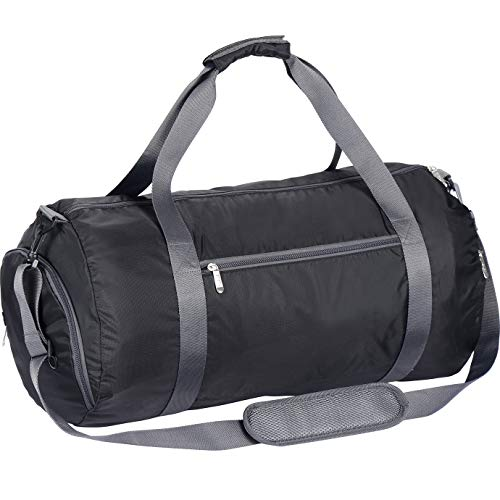 WEWEON Gym Bag for Men and Women Sports Duffle with Shoe Compartment - Great for Workout, Crossfit and Fitness
