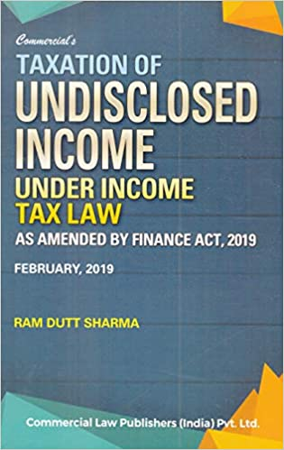 Taxation Of Undisclosed Income Under Income tax Law (2019-2020 Session)