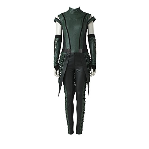CosplayDiy Women's Suit for Guardians of The Galaxy Vol. 2 Mantis Cosplay