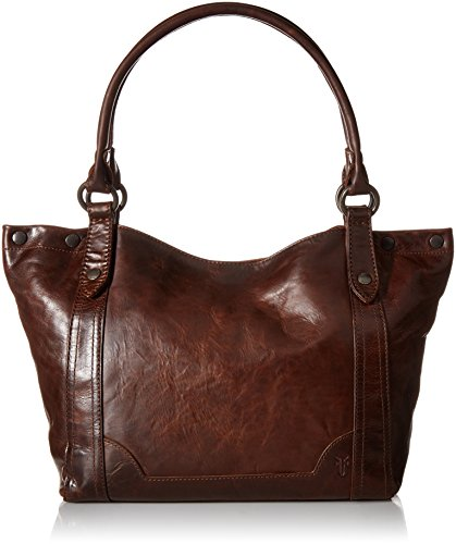 Dark Leather Melissa Handbag Brown Shoulder FRYE Ig7wq6xg