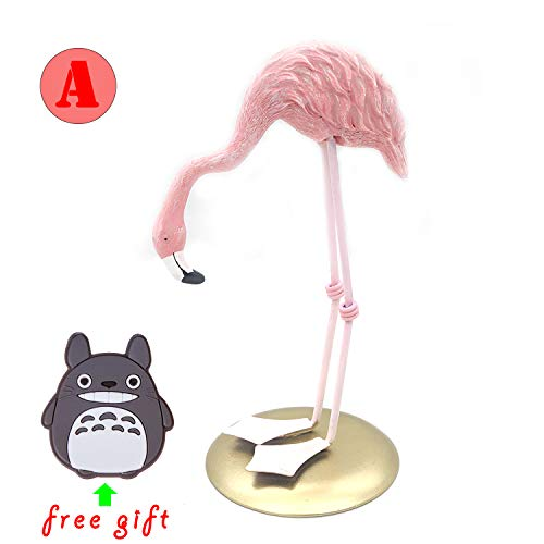 Kijea Home Decor Art Crafts Figure Resin Pink Flamingo Sculpture/Statue/Figurine Set for Lover/Wedding/Birthday, Decorations for Desk Indoor/Bedroom/Office, Garden, Yard/Lawn Ornament (Art Near Sculptures Me)