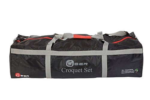 Uber Games Carrying Bag for 9 Wicket Croquet Set - Nylon - 4 Player by Uber Games