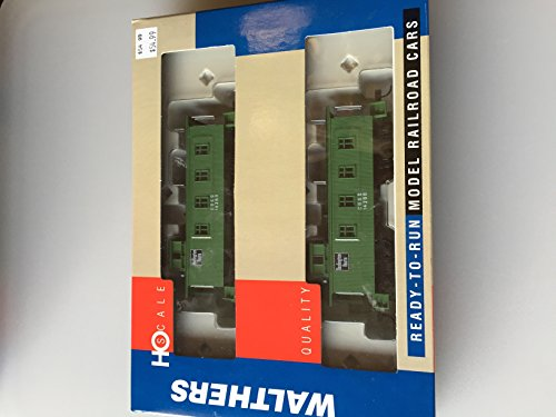 2 Window Caboose - Walthers HO Scale 30' Four Window Caboose 2 in Package CB