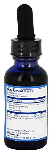 Klaire Labs Micellized Vitamin A 1 oz.