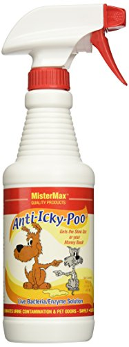 MisterMax Anti Icky Poo Odor remover (1) Pint Feces Stain Removal