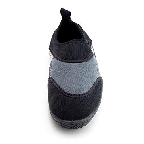 Womens Outdoor Beach Pool Creek Aqua Water Shoes (Adults) Grey CLDkH0HJ