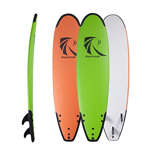 Raystreak 7'2″ Crocodile Groove Soft Surfboard Beach Ocean Surfing Body Foamie Board