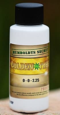 Humboldts Secret Best Plant Food For Plants and Trees Golden Tree, Explosive Growth, Yield Increaser, Dying Plant Rescuer, Use on Flowers, Roses, Fruit, Vegetables, Tomatoes, Organic
