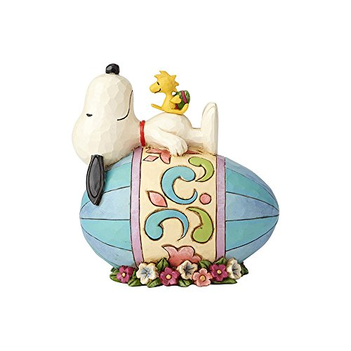 Enesco Peanuts by Jim Shore Snoopy on Easter Egg