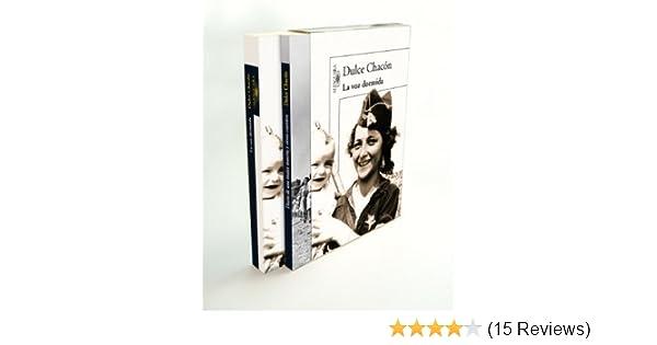 Amazon.com: La voz dormida Edición EspeciaL (Incluye Diario de una mujer muerta y otros cuentos) (Spanish Edition) eBook: Dulce Chacón: Kindle Store
