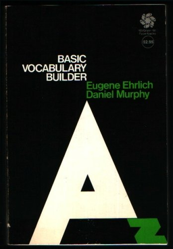 Builder Basic Vocabulary (Basic vocabulary builder (McGraw-Hill paperbacks))