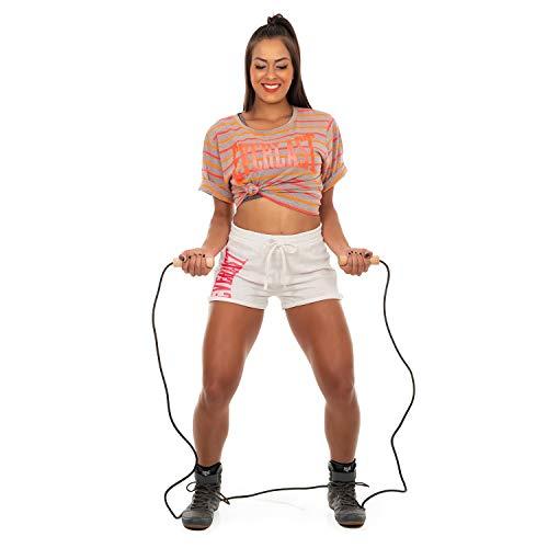 Shorts Everlast Moletinho Botone Silk Neon