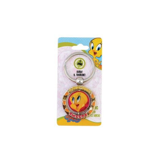 Looney Tunes - Tweety Bird - Spinner Key Ring ()