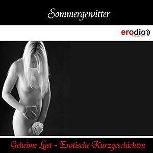 Sommergewitter (Geheime Lust - Erotische Kurzgeschichten) Hörbuch
