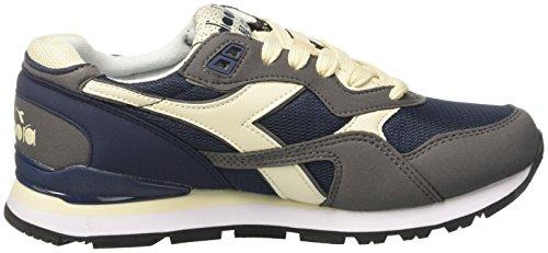 N Diadora – Blu Grigio Sneaker 92 Denim Adulto Collo Bufera Scuro a Basso Unisex Blu drr0gvqcO