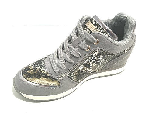 Sneaker Donna Sue12 Nero Fllce3 Guess Hp7wAEq