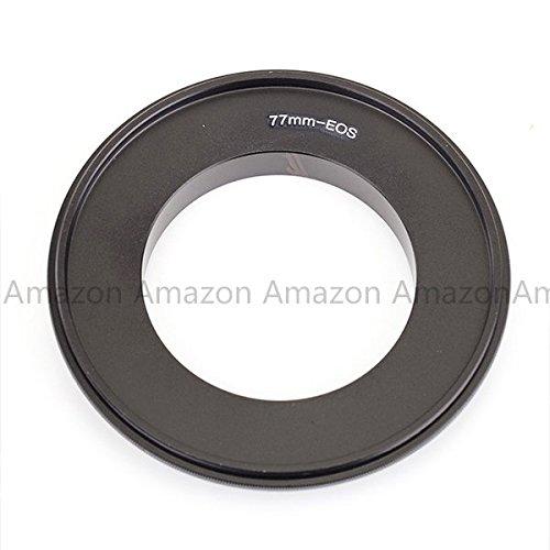 Pixco 77mm Macro Reverse Mount Adapter for Canon EF EOS Camera with 77mm Filter Thread Lens 350D 300D 700D 650D 7D 70D 60D