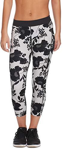 Body Glove Active Women's Drift Perfomance FIT Activewear Capri Pant, WAITOMO Black, Medium
