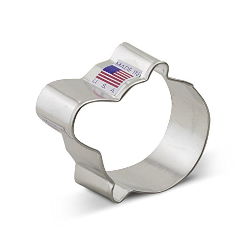 Pacifier Cookie (Ann Clark Baby Pacifier Cookie Cutter - 2.5 Inches - Tin Plated Steel)