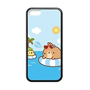 cute cartoon swim personalized high quality cell phone case for Iphone 5C