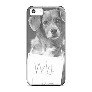 Hot Tpu Cover Case For Iphone/ 5c Case Cover Skin - Will Love For Food