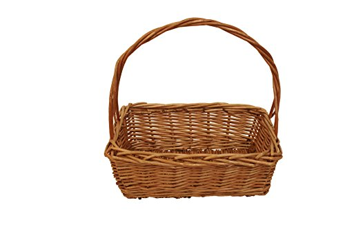 Wald Imports Brown Willow  Decorative Nesting Storage Baskets, Set of 3