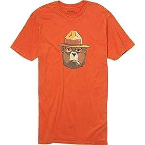 Burton Bearly Legal Slim T-Shirt - Short-Sleeve - Men's Red Clay, XXL