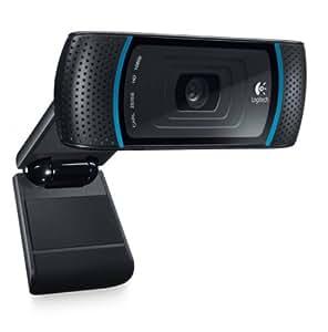 Logitech C910 - Webcam de alta definición con conector USB