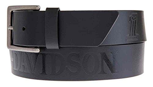 Lodis Harley-Davidson Men's Sidecar #1 Skull Belt, Black ...
