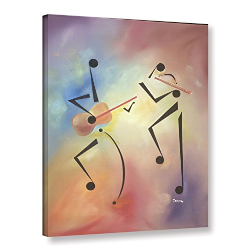 ArtWall Ikahl Beckford's Flutina, Gallery Wrapped Canvas, for sale  Delivered anywhere in USA