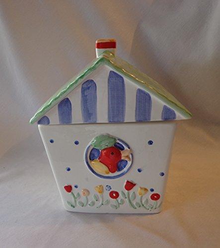 COOKIE JAR ~ BIRDHOUSE, COCO DOWLEY (Birdhouse Cookie)