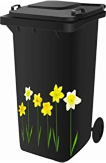 Woodland Wheelie Bin Stickers
