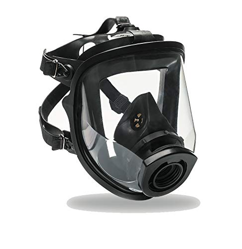 Full Face Respirator Gas Mask SuperView with 40 mm NATO NBC MIRA SAFETY Dot PRO filter