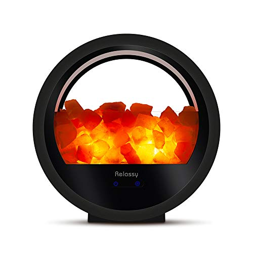 Relassy Himalayan Salt Lamp Bluetooth Speaker (Best Salt Lamps 2019)