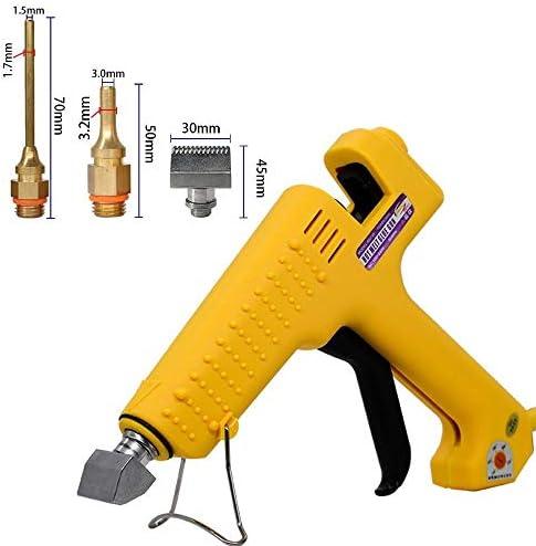 250Wハイパワーロッド用接着ガン専門の商業製造温度ホット融解ツールを調整することができます (色 : CPS 6, Plug Type : US)