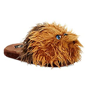 Star Wars Chewbacca Men's 3D Character Plush Slippers