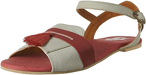 Kanvas Katha Women's Grey Fashion Sandals