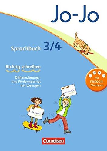 Jo-Jo Sprachbuch - Allgemeine Ausgabe 2011: 3./4. Schuljahr - Arbeitsblock